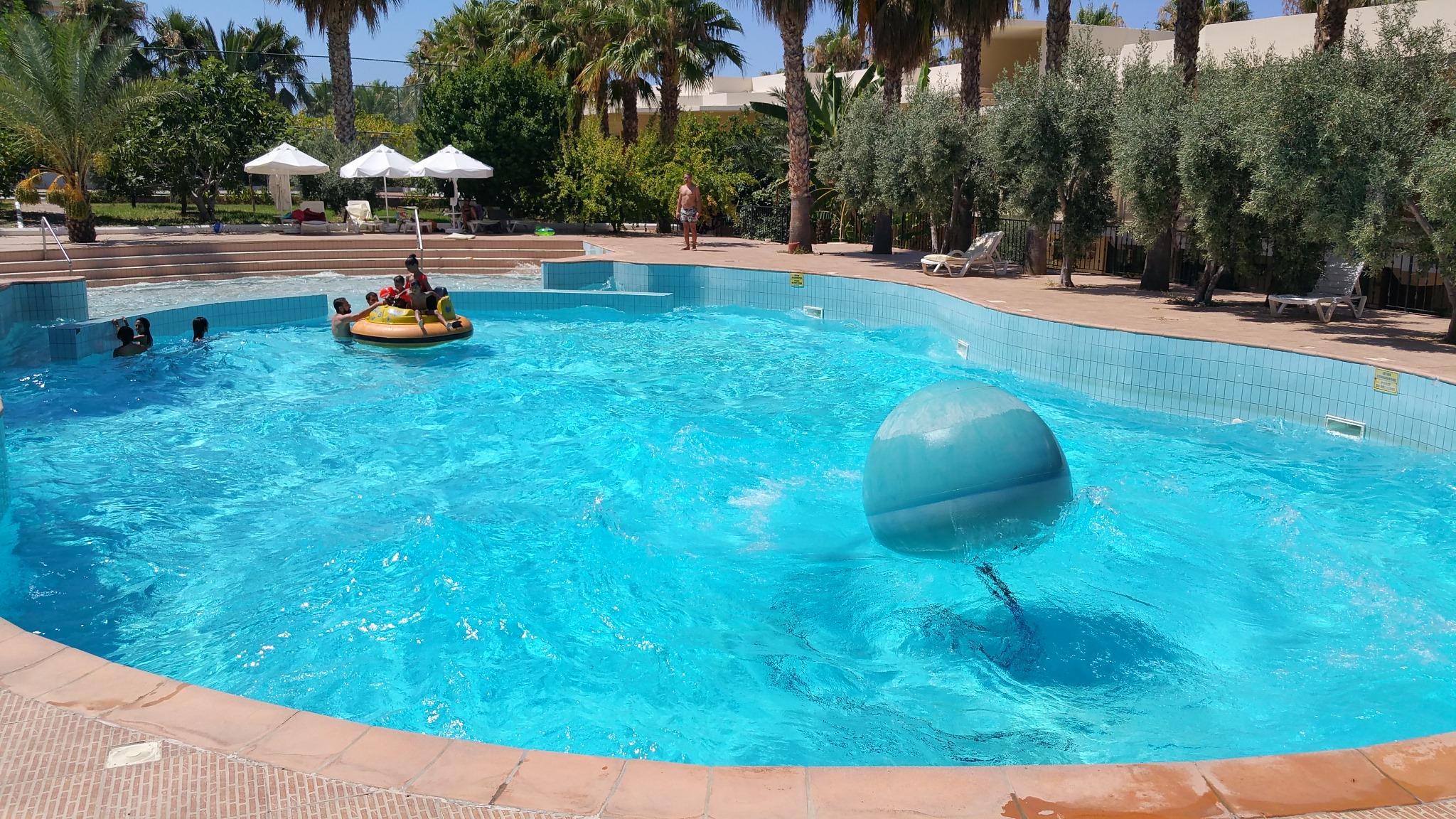 The Wave Pool first in north cyprus