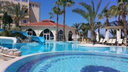 Aqua Park Outdoor Jacuzzi Cyprus Hotels