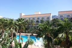 oscar resort hotel pink court building
