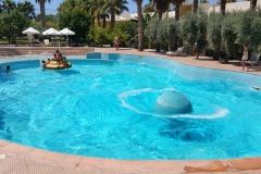 oscar resort hotel wave pool with generator