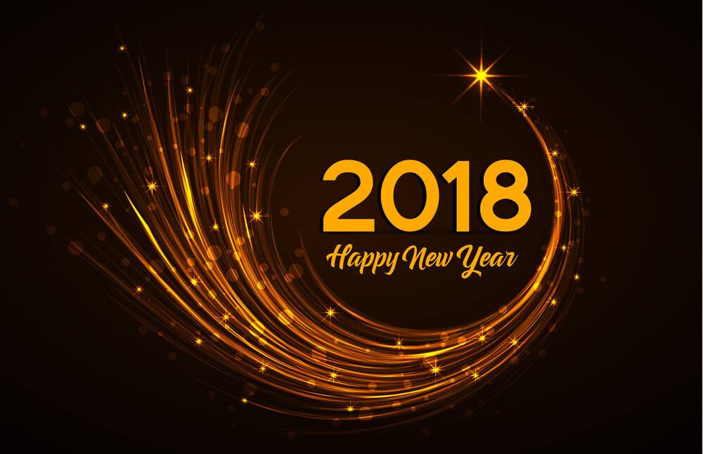 Image result for happy new year images 2018